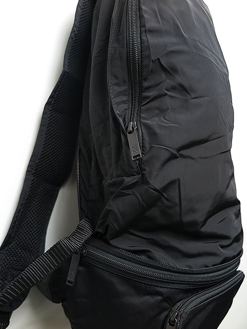 Y-3・ワイスリー・PACKABE BACK PACK・ブラック.