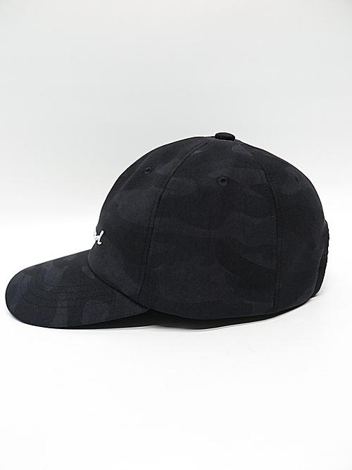 RESOUND CLOTHING・リサウンドクロージング/ID ROGO CAMO low cap/BLACK.