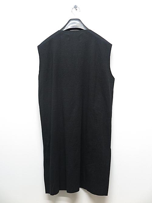 kujaku・クジャク/linen cotton iwahaze pullover/BLK