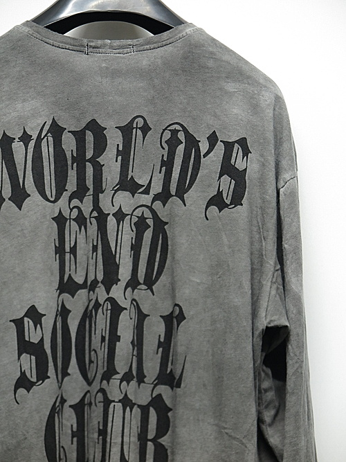 KMRii・ケムリ/World's End 04/LS/Charcoal