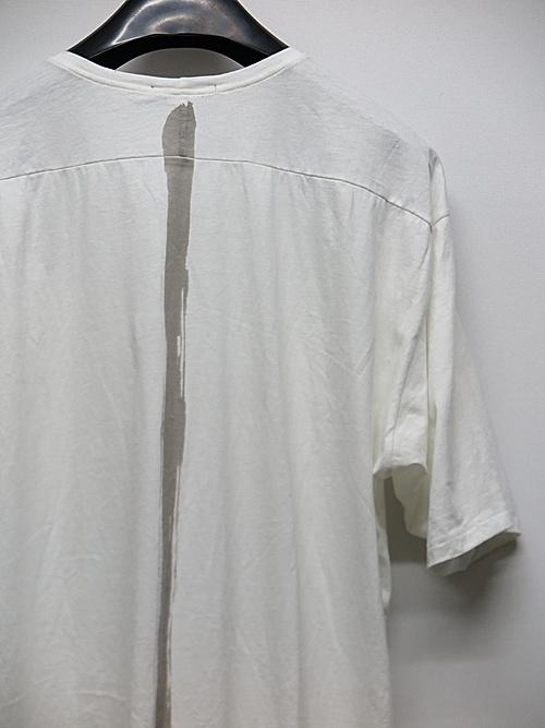 (予約品)2〜3月入荷/KMRii・ケムリ/Cotton Stealth Cut 02 / SS/WHT