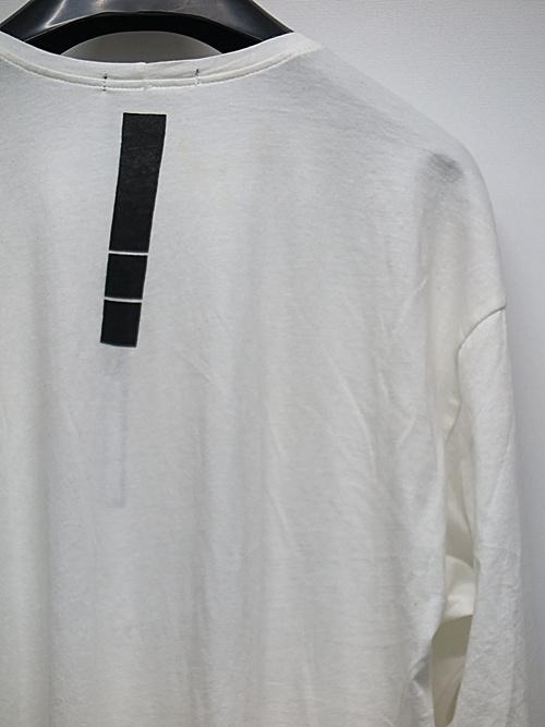 KMRii・ケムリ/Slash Cut 04/LS/White