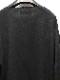 kujaku・クジャク/linen cotton tobera pullover/BLK.
