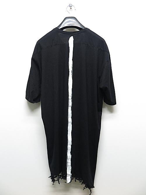 (予約品)2〜3月入荷/KMRii・ケムリ/Cotton Stealth Cut 02 / SS/BLK