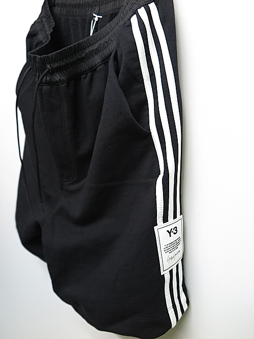 Y-3・ワイスリー/M 3 STP TERRY SHORTS/BLACK