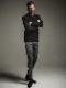 (予約品)10月入荷/22TH RESOUND CLOTHING・リサウンドクロージング/velours fleece neo thermal/BLACK