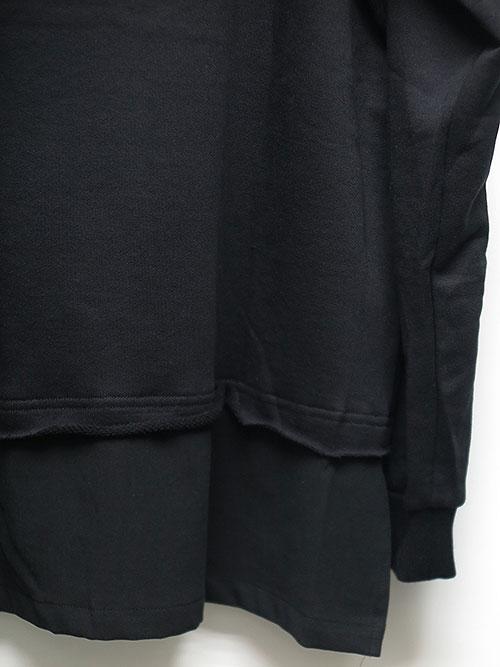 SALE40%OFF/The Viridi-anne・ザ ヴィリディアン/裏毛プルオーバー BLACK.
