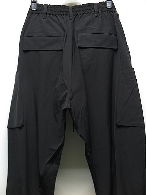 Y-3・ワイスリー/M CLASSIC LIGHT RIPSTOP UTILITY PANTS/BLACK
