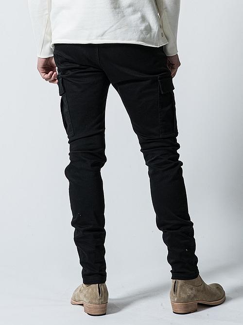 (予約品)10月入荷予定/wjk・ダブルジェイケイ/M65 skinny pants/BLK