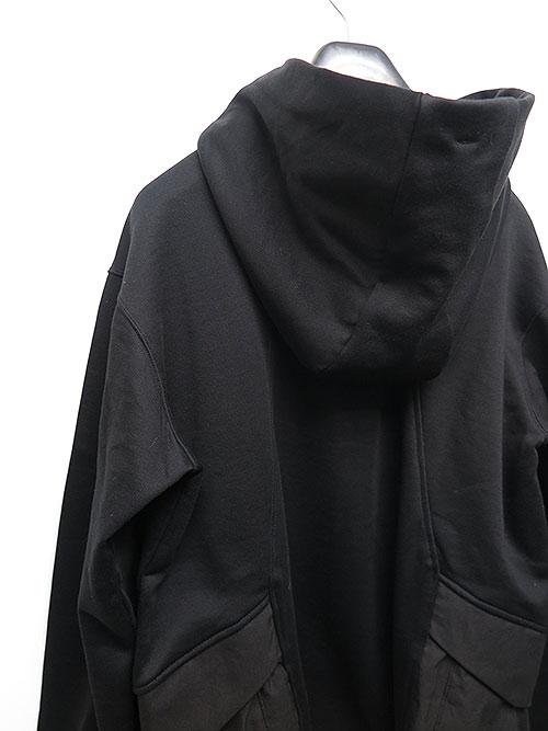 SALE40%OFF/The Viridi-anne・ザ ヴィリディアン/裏毛フードパーカー BLACK