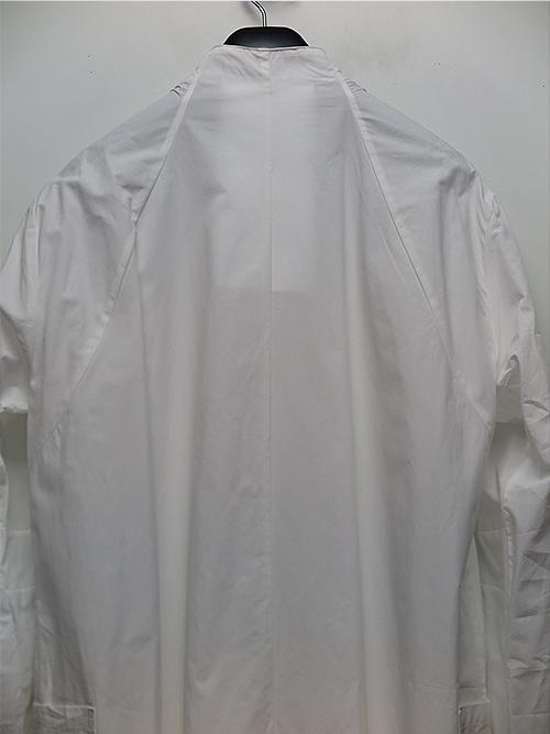 nude:masahiko maruyama・ヌード:マサヒコマルヤマ/コットンタイプライターLONG SHIRT/OFF WHITE.