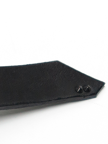 KMRii・ケムリ/Cow Leather BT- White Estoc/BLACK.