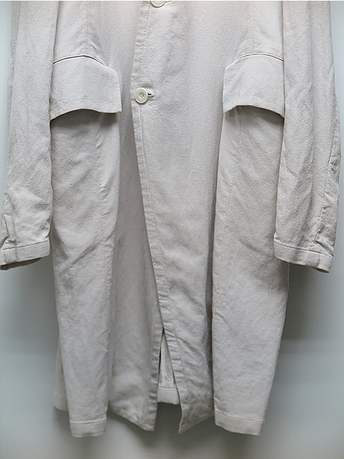 SALE40%OFF/JULIUS・ユリウス/VIS/CO/LI CREPE JACKET2 PLASTER.