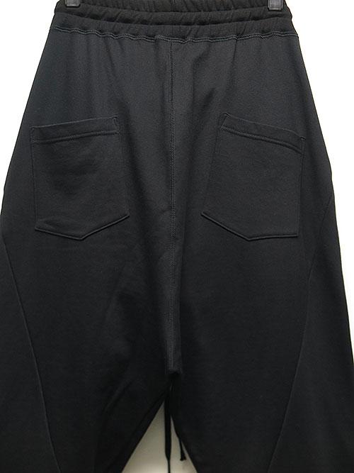 The Viridi-anne・ザ ヴィリディアン/裏毛ジョガーパンツ BLACK