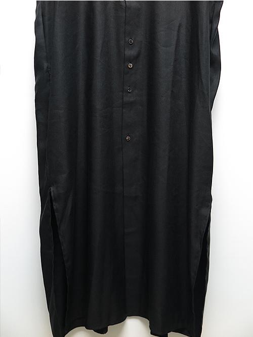 SALE40%OFF/kujaku・クジャク・kamitsure coat/BLK.