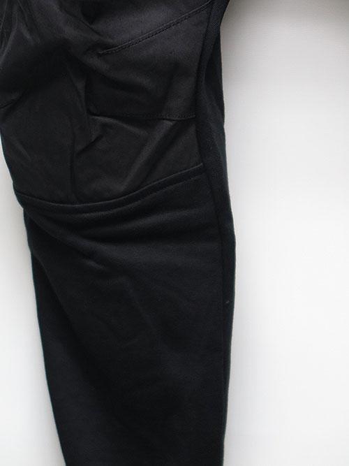 SALE40%OFF/The Viridi-anne・ザ ヴィリディアン/裏毛コンビタクティカルパンツ BLACK