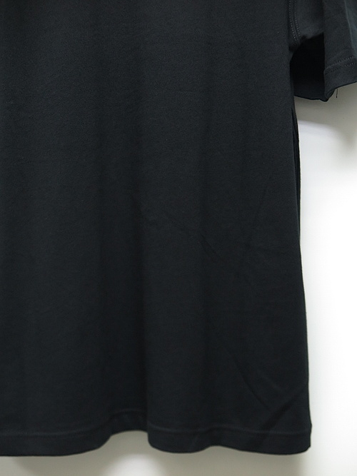 Yohji Yamamoto・ヨウジヤマモト/xNEW ERA collaboration SS COTTON TEE YY P・ブラック
