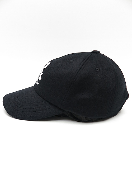 18TH RESOUND CLOTHING・リサウンドクロージング/RC WOOL low cap/WOOL BKWH
