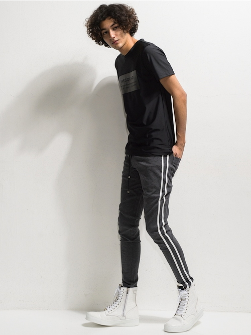 20TH RESOUND CLOTHING・リサウンドクロージング/super tight taperd Blind LINE PT/CGREY