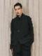 (予約品)2〜3月入荷/nude:masahiko maruyama ・ヌード:マサヒコマルヤマ/GARMENT DYED VEST/Black