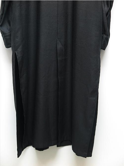 kujaku・クジャク・jinchoge shirt/BLK