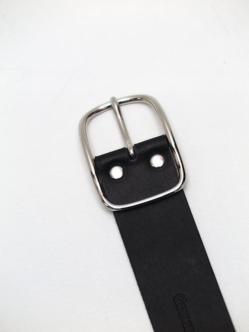 Ground Y・グラウンドワイ・Cow leather Belt bracelet/ブラック