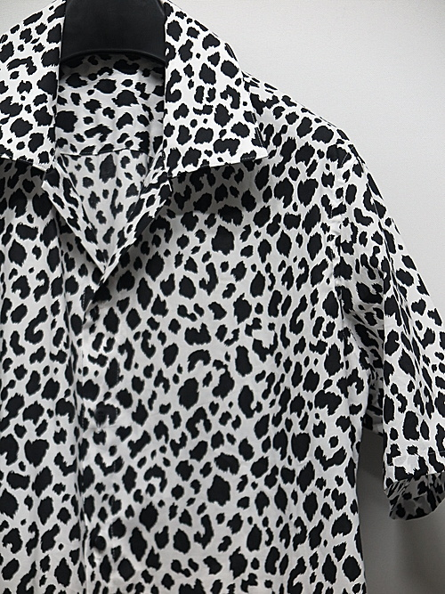 kiryuyrik・キリュウキリュウ/Leopard Loan KAIKIN  Shirts/BlackWhite