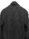 kiryuyrik・キリュウキリュウ/Pythone JQD Jersey Shawl Cardigan/BLACK