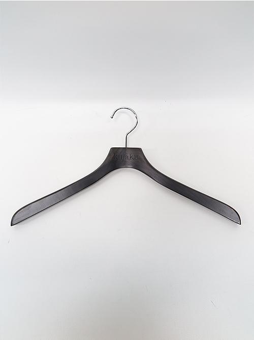 (予約品)8〜9月入荷/kujaku・クジャク/wool azemushiro shirt/ black