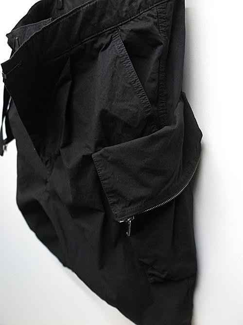The Viridi-anne・ザ ヴィリディアン/CORDURA ʻNYCO' 製品染め ショーツ/BLK