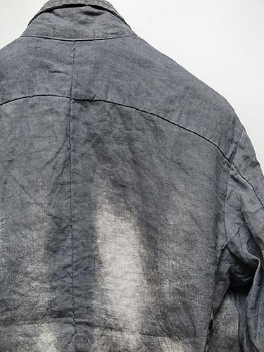 SALE40%OFF/KMRii(ケムリ)Discharge Linen JKT03/CHA.