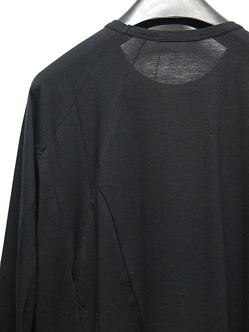 The Viridi-anne・ザ ヴィリディアン/綿/カシミヤ 長袖T BLACK.