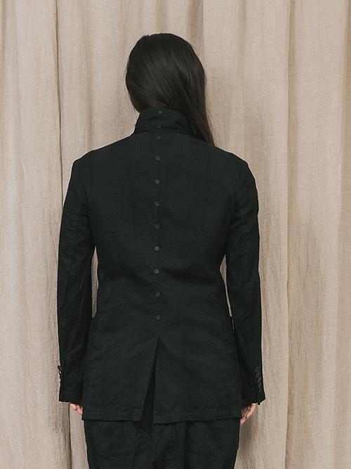 (予約品)2〜3月入荷/nude:masahiko maruyama ・ヌード:マサヒコマルヤマ/GARMENT DYED JACKET/Black