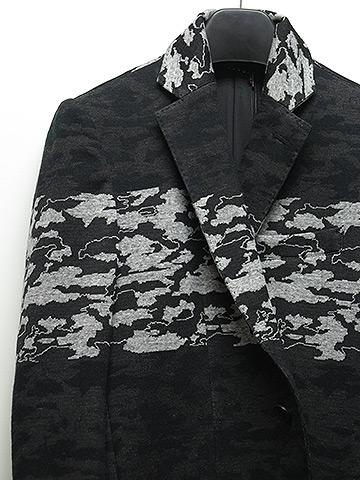 SALE60%OFF/SUMRUFF(サムラフ)カモボーダージャガードジャケット・チャコールブラック.