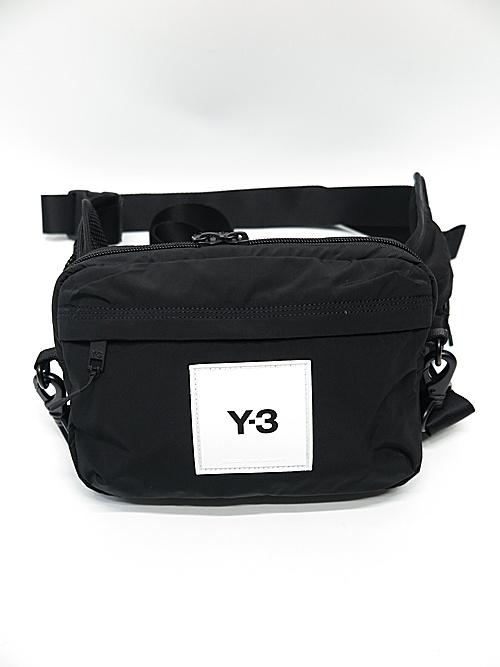 Y-3・ワイスリー/Y-3 SLING BAG/BLACK