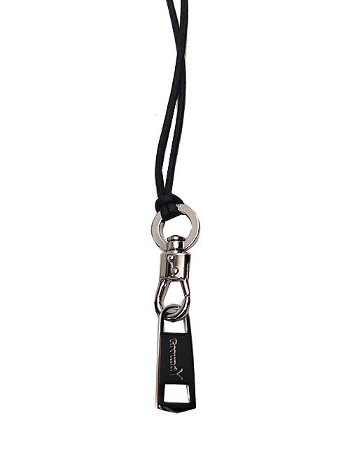 Ground Y・グラウンドワイ・brass Puller Necklace/シルバー
