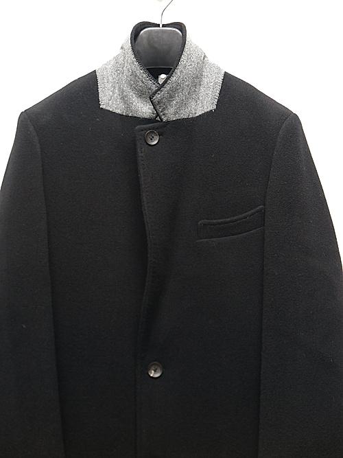 wjk・ダブルジェイケイ/chesterfield coat/BLK
