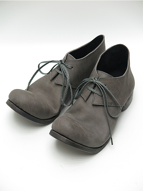 Portaille・ポルタユ/Filled steer derby shoes/GRAY