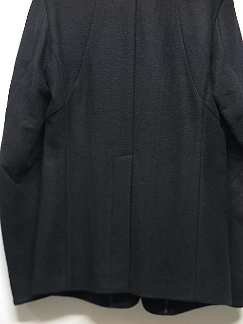 D.HYGEN・ディーハイゲン/カシミヤ混ニットテーラードJKT/BLACK