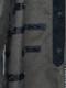Ground Y・グラウンドワイ/Cotton canvas Zipper long tape Shirts/KHAKI.