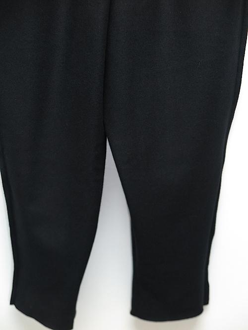 kujaku・クジャク/shakunage pants/BLK.