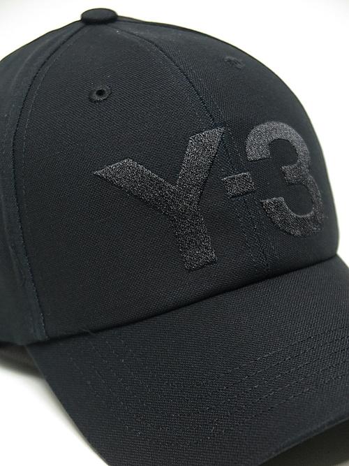 Y-3・ワイスリー/Y-3 CLASSIC LOGO CAP/BLACK.