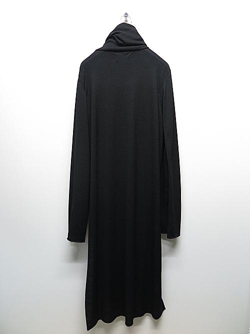 kujaku・クジャク/wool rindo pullover/ black