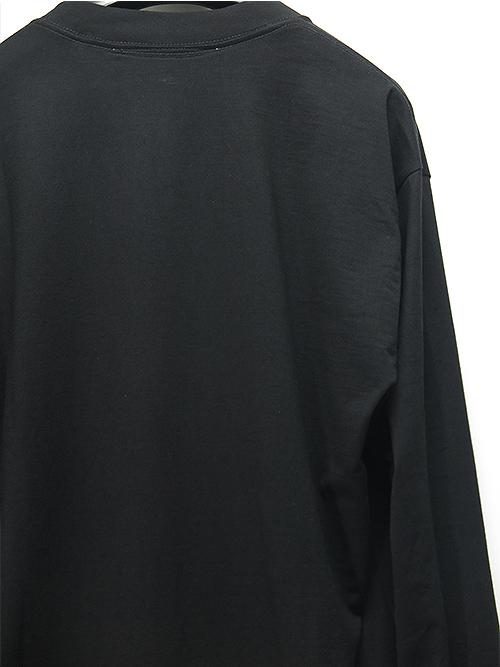 nude:masahiko maruyama・ヌード:マサヒコマルヤマ/ハードバイオ天竺OVER SIZE EAGLE PRINT LONG SLEEVE T/BLACK.