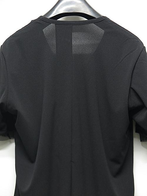 kiryuyrik・キリュウキリュウ/Mesh+Mesh Layerd T-Shirts/BlackBlack