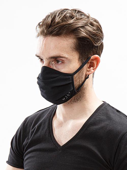 (予約品11月入荷予定/wjk・ダブルジェイケイ/adjustable mask cover/black