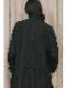 (予約品)2〜3月入荷/nude:masahiko maruyama ・ヌード:マサヒコマルヤマ/OVERSIZED COAT w/#0 THREAD OVER LOCK/Black