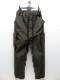 Ground Y・グラウンドワイ/Cotton canvas Back tape army Pants/KHAKI.