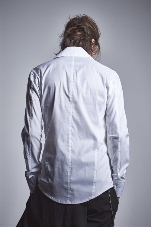 (予約品)10月入荷予定/kiryuyrik・キリュウキリュウ/Broad Shirts/WHITE