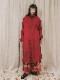 (予約品)2〜3月入荷/nude:masahiko maruyama ・ヌード:マサヒコマルヤマ/OVERSIZED COAT w/#0 THREAD OVER LOCK/Red